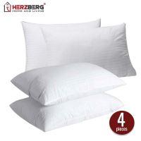 Herzberg HG-7048PP; Vysoce kvalitní polštář, balení po 4 kusech