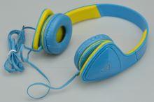 Modré stereo sluchátka s mikrofonem  - KEEKA  - 8595589001323