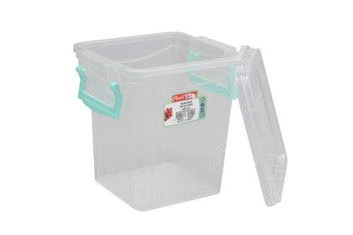 Plastový box na potraviny PLAST ART (17x15,5cm) - 1,8l - 8696219355509
