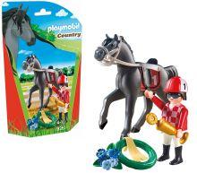 Playmobil 9261 Žokej s koněm