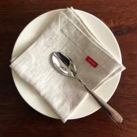 Aesthetic Lněný jídelní ubrousek - mix barev - 100% len, gramáž 245g/m2 Barva: Oatmeal