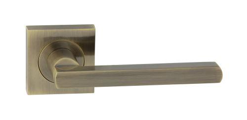 Dveřní dělené rozetové kování JANE-QR Klika štít hranatý