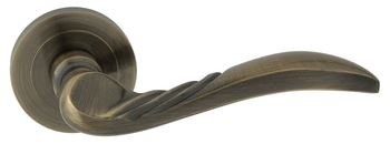 Dveřní dělené rozetové kování PETRA-R