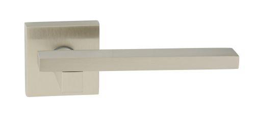 Dveřní dělené rozetové kování MARY -QR Klika štít hranatý