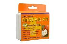 Cestovní krabička první pomoci - 42ks (11,5x8,5x2cm) - 8595586374949