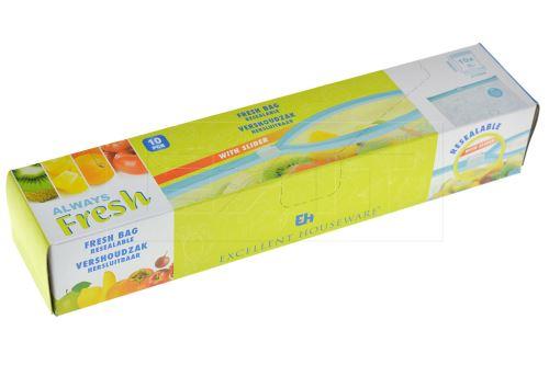 Uzavíratelný sáček na potraviny EH 3L 10ks - 8719202114232
