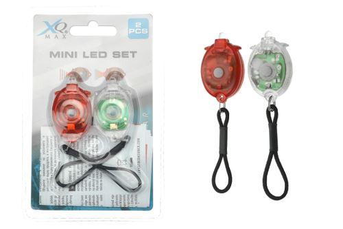 Mini LED cyklistické světlo - Set 2ks - 8719407002204