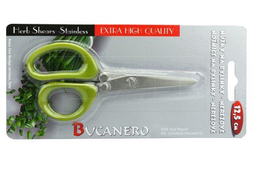Nerezové nůžky na bylinky BUCANERO (12.5cm)