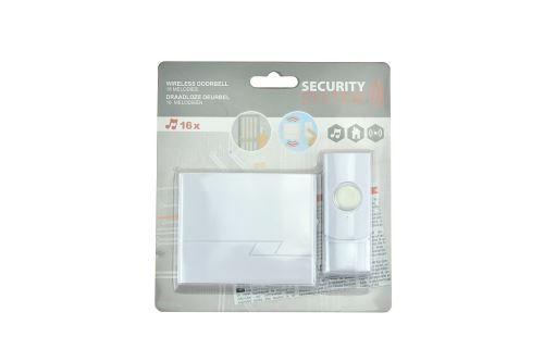 Bezdrátový domovní zvonek Security System - 8719987318252