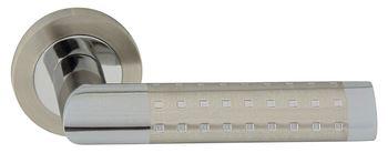 Dveřní dělené rozetové kování GALAXY-R