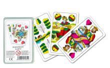 karty mariášové,dvouhlavé,plast.krabička (8588001170622)