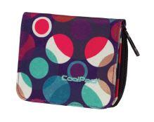 Coolpack peněženka lískových mozaikových bodů cp72632