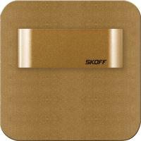 SKOFF LED nástěnné svítidlo MS-SAL-M-H-1 SALSA SHORT mat.mosaz(M) teplá(WW,3