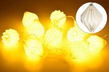 Svítící lampionky HS (160cm) 10LED - Teplá bílá - 8711295523366