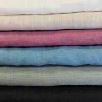 Aesthetic Lněná plážová deka, osuška - MIX barev a velikostí - 100% len, gramáž: 245 g/m2 Rozměr: 95x150 cm, Barva: Šeříková