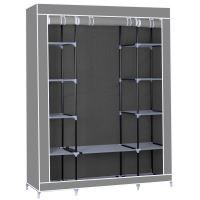 Herzberg HG-8009: Úložná skříň velká šedá