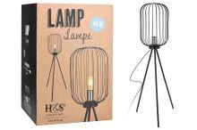 Rustikální stojanová lampa 40W - 8719987366628