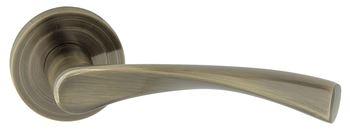 Dveřní dělené rozetové kování ROMANA-R