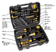 PROTECO - 42.04-1142 - sada nářadí v kufru, 42 dílů