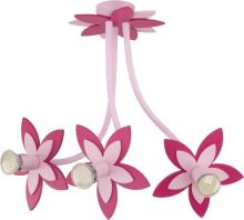 Nowodvorski Dětské svítidlo 6894 FLOWERS  PINK III závěs