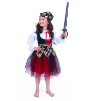 Dětský kostým pirátka (S) e-obal (8590687206830)
