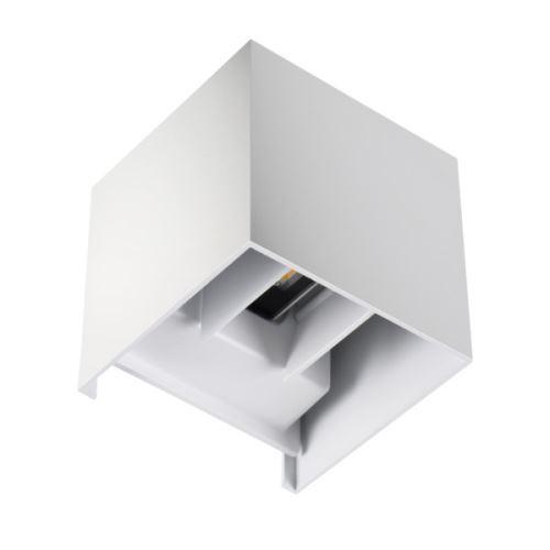 Kanlux Nástěnné venkovní svítidlo 28992 REKA LED EL 7W-L-W   bílá