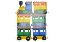Vláček a 5 vagónů LORI - 8592676000122