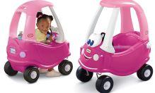 Littletikes auto útulné kupé růžové