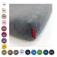 Aesthetic Prostěradlo mikroplyšové - do dětské postýlky - 60x120 cm - mix barev Barva: 347 hnědá střední