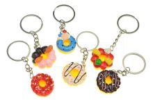 Plasový přívěšek na klíče GAZELO (2.5cm) - Donuty - 1ks mix motivů - 5900949406206