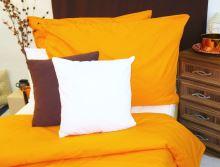 VERATEX Bavlněné povlečení oranžová 70x90 140x200cm
