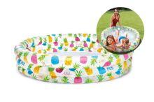 Dětský bazén 59431NP, 132x28cm - Ananas - 6941057402390