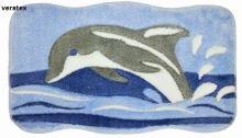VERATEX Koupelnová předložka LUX delfín 60x100 cm