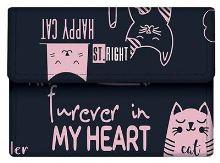 Náprsní peněženka  kočičky nw-02