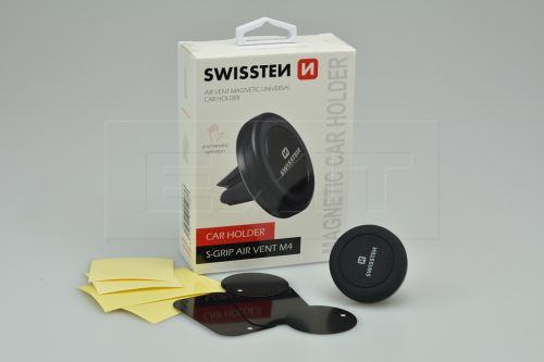 Držák mobilního telefonu SWISSTEN S-GRIP AIR VENT M4 na magnet - 8595217454736