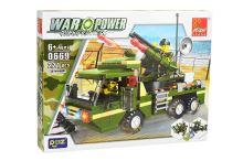 Stavebnice 0669, 221 dílků War Power