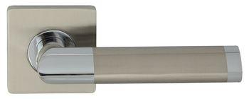 Dveřní dělené rozetové kování JARO-QR ECO Klika štít hranatý