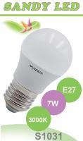 SANDRIA LED žárovka E27 S1031 SANDY LED E27 B45 7W SMD 3000K