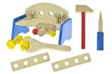 Work Table - dřevěný ponk pro rozvíjení motoriky dětí - 8595586369563