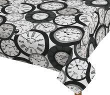 VERATEX Ubrus 120/140 cm hodiny