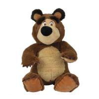 Máša a medvěd Plyšový medvěd 20cm sedící (4006592018603)