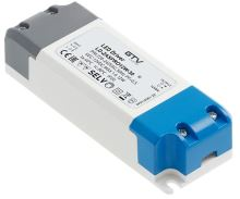 GTV LED trafo LD-ZASPRO12W-30 LED trafo AC220-240/DC12V, 12W ,  IP20