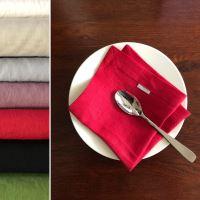 Aesthetic Lněný jídelní ubrousek - mix barev - 100% len, gramáž 185g/m2 Barva: Dusty Lilac