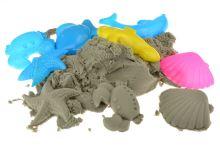 Kinetický písek s bábovičkama - Celková váha 740g - 8657988015490
