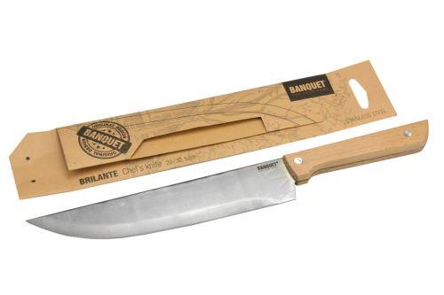 Nerezový kuchyňský kuchařský nůž BANQUET (20/32,5cm) - 8591022366547