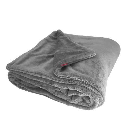 Aesthetic Deka zimní oboustranná -150x200cm Barva: 345 - šedá střední