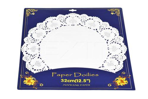 Set osmi kusů papírových krajek pod dort - 8590331323173
