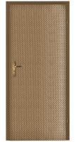 Koženkové čalounění dveří vzor Steampunk-loft kapky zlaté