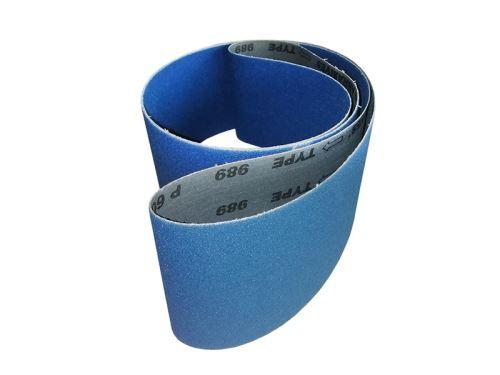 Brusný pás zirkon 100x2000, zr. 100 pro BPT-100/2