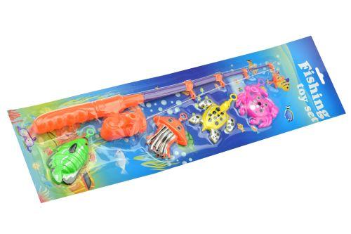 Dětská hra - Šikovný rybář (41cm), mix barev - 8718158952912